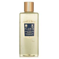 Floris Night Scented Jasmine Moisturising Bath & Shower Gel  250ml/8.5oz