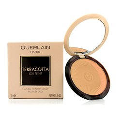 Guerlain Terracotta Joli Teint Natural Healthy Glow Powder Duo - # 01 Clair/Light Brunettes  10g/0.35oz