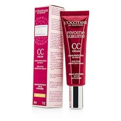 L'Occitane Peony Pivoine Sublime CC Cream SPF 20 - #Light  30ml/1oz