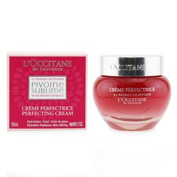 לאוקסיטן Peony Pivoine Sublime Perfecting Cream - קרם עור מושלם  50ml/1.7oz