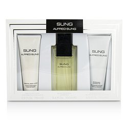 Alfred Sung Sung Coffret: Eau De Toilette Spray 100ml/3.4oz + Body Lotion 75ml/2.5oz + Shower Gel 75ml/2.5oz  3pcs