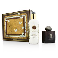 Amouage Lyric Set: Apã de Parfum Spray 100ml/3.4oz + Loțiune de Corp 300ml/10oz  2pcs
