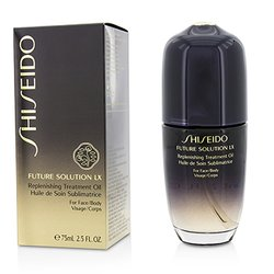 Shiseido Future Solution LX Replenishing Treatment Oil (For Face & Body)  75ml/2.5oz