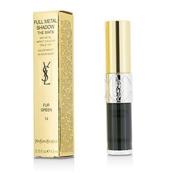 Yves Saint Laurent Full Metal Shadow The Mats - #14 Fur Green  4.5ml/0.15oz