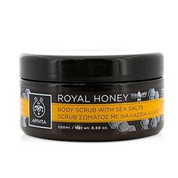 Apivita Royal Honey Body Scrub With Sea Salts  200ml/8.68oz