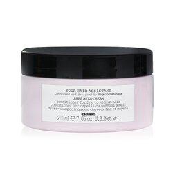 Davines Your Hair Assistant Prep Mild Cream Conditioner (For Fine to Medium Hair)  200ml/7.05oz