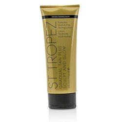 St. Tropez Gradual Tan Plus Sculpt And Glow Everyday Multi-Active Toning Lotion 01474  200ml/6.7oz