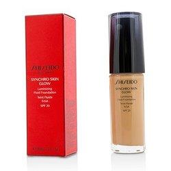 Shiseido Synchro Skin Glow Luminizing Fluid Foundation SPF 20 - # Rose 4  30ml/1oz