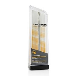 Tweezerman Stainless Steel Pushy & Nail Cleaner (Studio Collection)