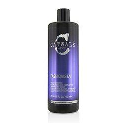 ティジー Catwalk Fashionista Violet Shampoo (For Blondes and Highlights)  750ml/25.36oz