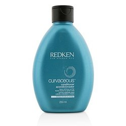 Redken Curvaceous Conditioner - Leave-In/Rinse-Out (For Loose Waves to Spiral Curls)  250ml/8.5oz
