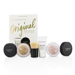 BareMinerals Get Started Mineral Foundation Kit - # 08 Light  4pcs
