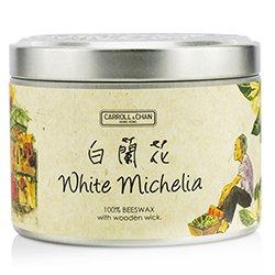蠟燭世家  錫罐100%蜂蠟木芯蠟燭 - White Michelia  (8x5) cm