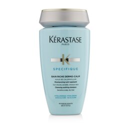 Kerastase Specifique Bain Riche Dermo-Calm Cleansing Soothing Shampoo (Sensitive Scalp, Dry Hair)  250ml/8.5oz