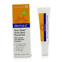 Derma E Very Clear Acne Spot Treatment  14g/0.5oz