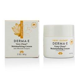 Derma E Very Clear Moisturizing Cream  56g/2oz