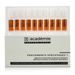 Academie Specific Treatments 1 Ampoules Rougeurs Diffuses - Salon Product  10x3ml/0.1oz