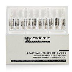 Academie Specific Treatments 2 Ampoules Hyaluronic Acid - Salon Product  10x3ml/0.1oz