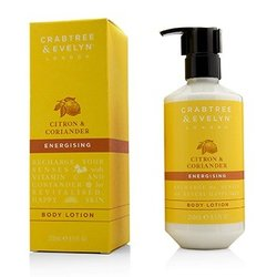 Crabtree & Evelyn Citron & Coriander Energising Body Lotion  250ml/8.5oz