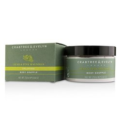 Crabtree & Evelyn Pear & Pink Magnolia Uplifting Body Souffle  250ml/8.64oz