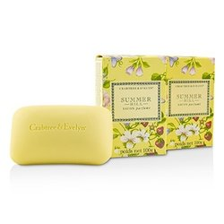 Crabtree & Evelyn Summer Hill Scented Bath Soap  3x100g/3.5oz