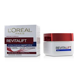 歐萊雅 Dermo-Expertise RevitaLift Night Cream 8185 (Box Slightly Damaged)  50ml/1.7oz