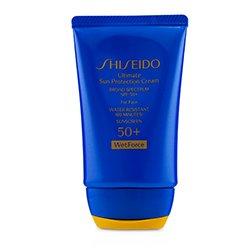 Shiseido Ultimate Sun Protection Cream WetForce For Face SPF 50+  50ml/1.7oz