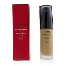 Shiseido Synchro Skin Lasting Liquid Foundation SPF 20 - Golden 5  30ml/1oz