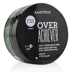 Matrix كريم + لصوق + شمع 3 بـ1 Style Link Over Achiever (تثبيت 4)  49g/1.7oz