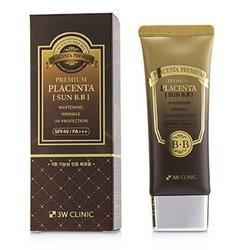 3W诊所  Premium Placenta Sun BB Cream SPF 40/ PA+++  70ml/2.3oz