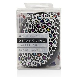 Tangle Teezer Compact Styler On-The-Go Detangling Hair Brush - # Punk Leopard  1pc