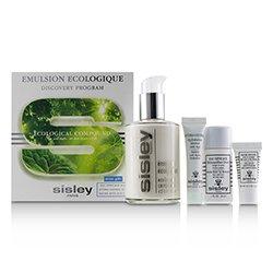 Sisley Emulsion Ecologique Discovery Program: Ecological Compound 125ml+ Eau Efficace 30ml+ Hydra-Global 10ml+ Baume Efficace 5ml  4pcs
