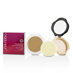 Shiseido Sheer & Perfect Compact Foundation SPF 21 (Case + Refill) - # I40 Natural Fair Ivory  10g/0.32oz