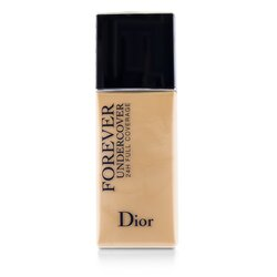 Christian Dior Diorskin Forever Undercover 24H Wear Full Coverage Water Based Foundation - # 010 Ivory  40ml/1.3oz