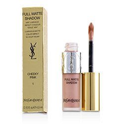 Yves Saint Laurent Full Matte Shadow - # 1 Cheeky Pink  4.5ml/0.15oz