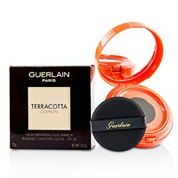 Guerlain Terracotta Cushion Fresh Bronzing Fluid Makeup SPF 20 - # Medium  13g/0.4oz