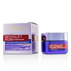 歐萊雅 Revitalift Filler [HA] Anti-Aging Night Cream  50ml/1.7oz