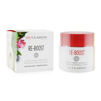 My Clarins Re-Boost Matifying Hydrating Cream - For Combination to Oily Skin  50ml/1.7oz