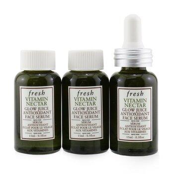 Vitamin Nectar Glow Juice Antioxidant Face Serum  3x15ml