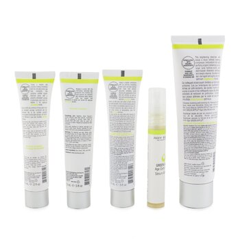 Brightening Solutions Set: 30 Day Discovery Kit For Brightening & Correcting Uneven Skin Tone (Box Slightly Damaged)  5pcs