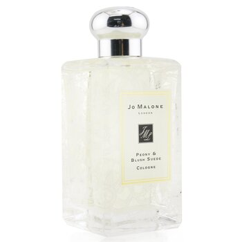 Peony & Blush Suede Cologne Spray With Daisy Leaf Lace Design (Originally Without Box)  100ml/3.4oz