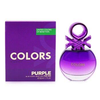Colors Purple Eau De Toilette Spray  50ml/1.7oz