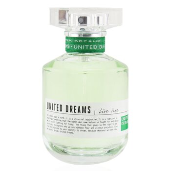 United Dreams Live Free Eau de Toilette Spray  50ml/1.7oz