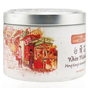 100% Beeswax Tin Candle - White Michelia  (8x6) cm