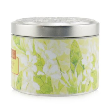 100% Beeswax Tin Candle - Ginger Lily  (8x6) cm