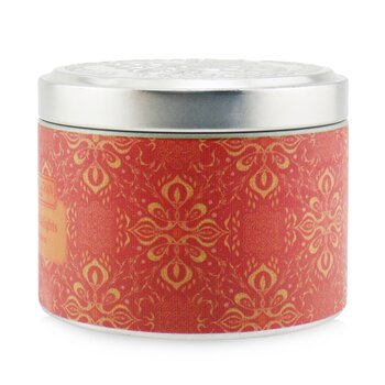 100% Beeswax Tin Candle - Golden Delights  (8x6) cm