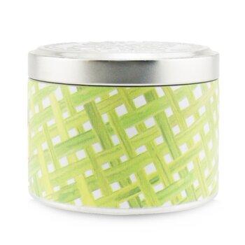 100% Beeswax Tin Candle - Thai Lemongrass  (8x6) cm