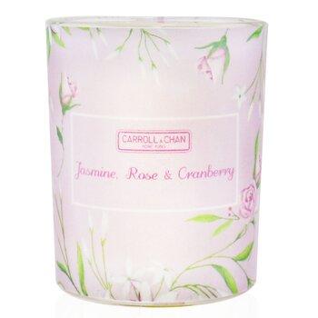 100% Beeswax Votive Candle - Jasmine Rose Cranberry  65g/2.3oz