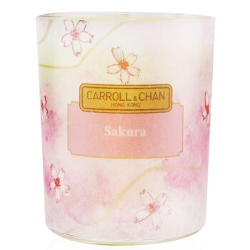 100% Beeswax Votive Candle - Sakura  65g/2.3oz