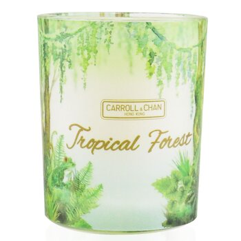 100% Beeswax Votive Candle - Tropical Forest  65g/2.3oz